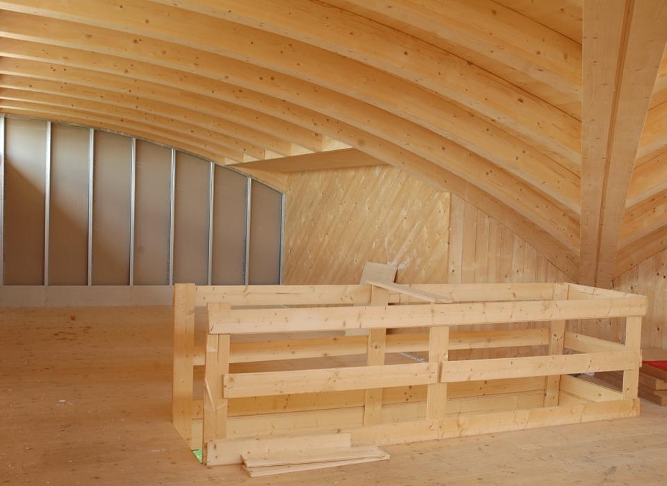 Pareti Interne In Legno : Coibentazione di tetti e pareti interne ed esterne con pannelli